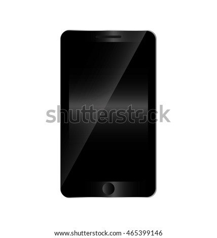 smartphone technology gadget display icon. Isolated and flat illustration. Vector graphic