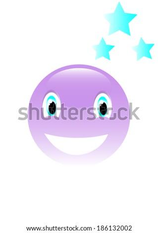 smile  - stock vector