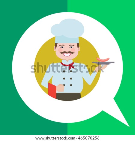 Smiling male chef