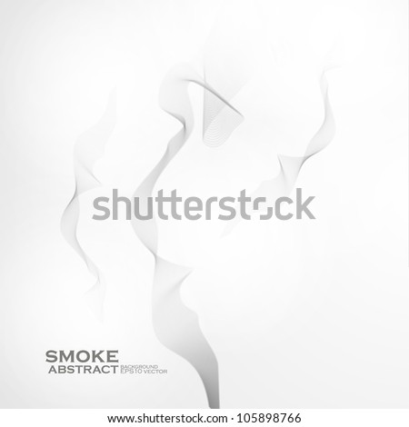 Smoke background. Abstract  vector illustration eps10 - stock vector