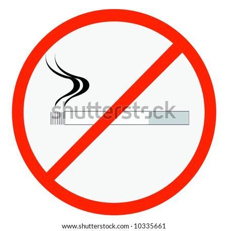 smoking - stock vector