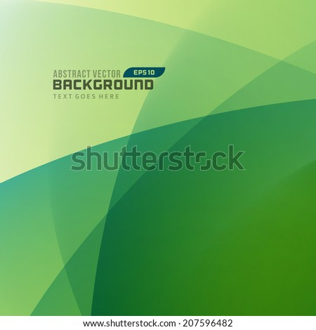 Smooth light lines abstract vector background