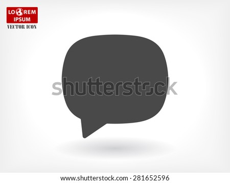 SMS vector icon - stock vector