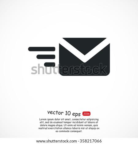 sms vector icon - stock vector