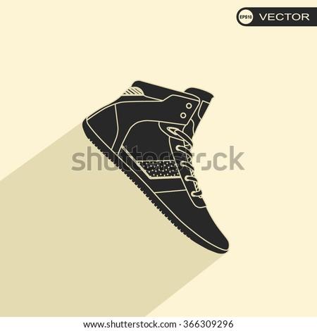 Sneaker Icon / Sneaker Icon Object / Sneaker Icon Picture / Sneaker Icon Image / Sneaker Icon Art / Sneaker Icon JPG / Sneaker Icon JPEG / Sneaker EPS / - stock vector