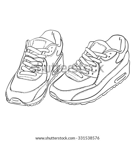 nike shoes stock images royalty free images vectors