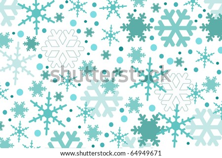 snow - stock vector