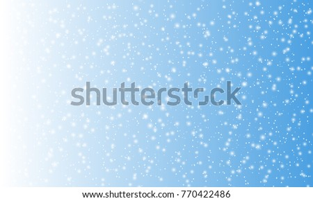 Snow Background. Snowfall vector illustration.