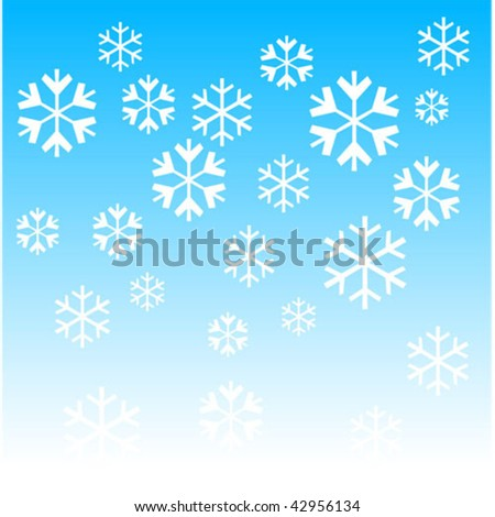 Snow.Vector image