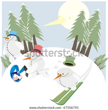 Snow Avalanche Stock Photos, Royalty-Free Images & Vectors ...