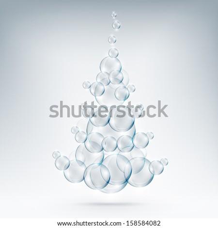 soap of tree - stock vector