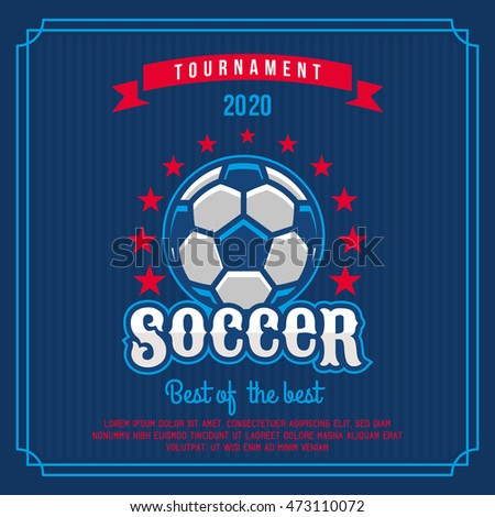 Ticket Design Template Concept Football Vector 218562844 – Ball Ticket Template