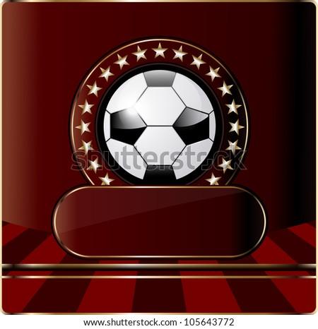 Soccer ball,football .  EPS10 - stock vector