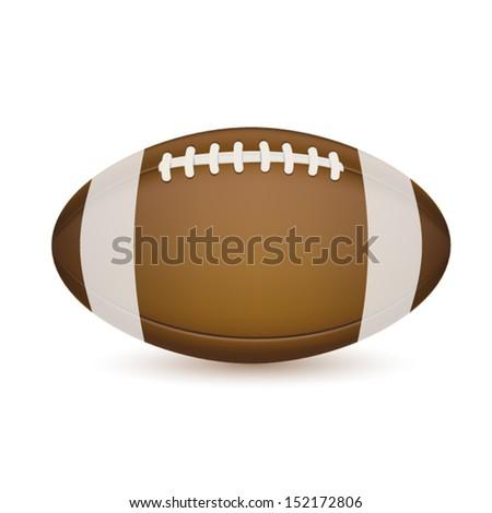 Soccer ball isolated on white. EPS10 vector. - stock vector