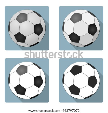 how to draw a 2d soccer ball