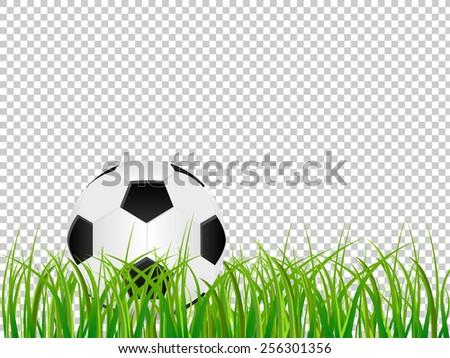 Soccer ball logo no background
