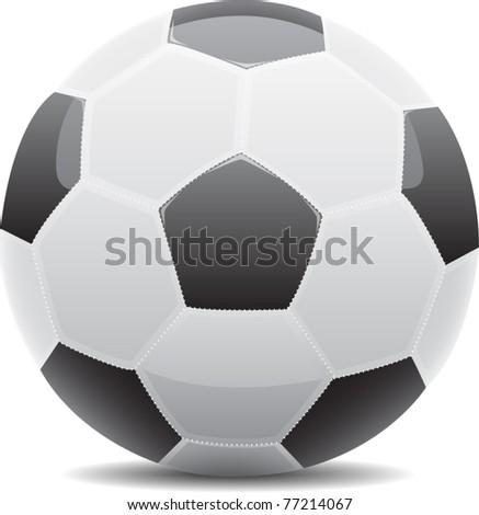 Soccer ball. Vector - stock vector