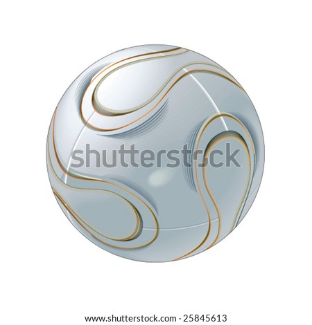 soccer ball - vector collection - stock vector
