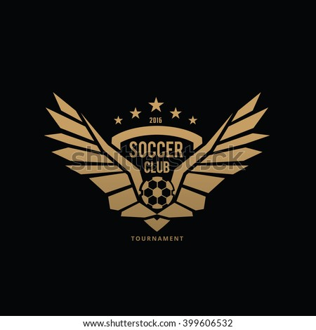 Football Logo Stock Images Royalty Free Images Amp Vectors