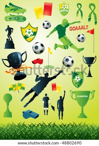 Soccer Collection 2 - stock vector