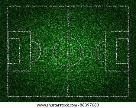 soccer field for your design. Vector illustration. Best Choice - stock vector