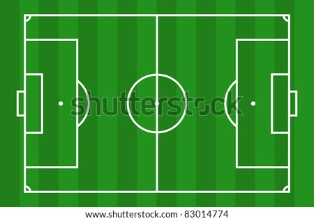 Soccer field - View from above