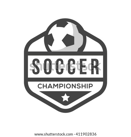 soccer logo stock images royaltyfree images amp vectors