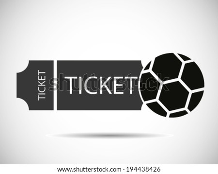 Soccer Tickets - stock vector