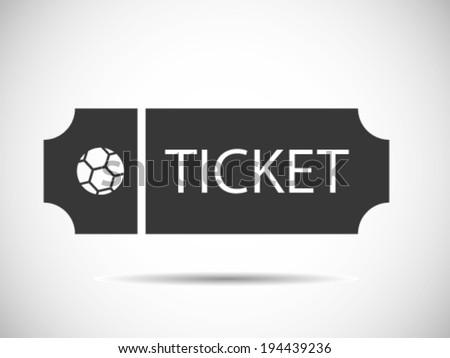 Soccer Tickets - stock vector