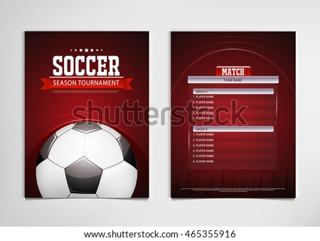 Sports poster templates free