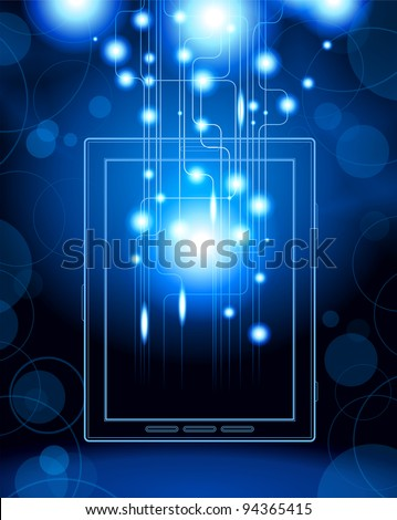 social media, communication in the global computer networks.File is saved in AI10 EPS version. This illustration contains a transparency - stock vector