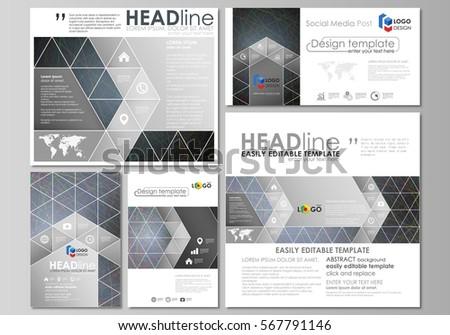 design folding brochures bronze silver polygonal stock vector 359042210 shutterstock. Black Bedroom Furniture Sets. Home Design Ideas