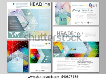 business templates square brochure magazine flyer stock vector 579342202 shutterstock. Black Bedroom Furniture Sets. Home Design Ideas