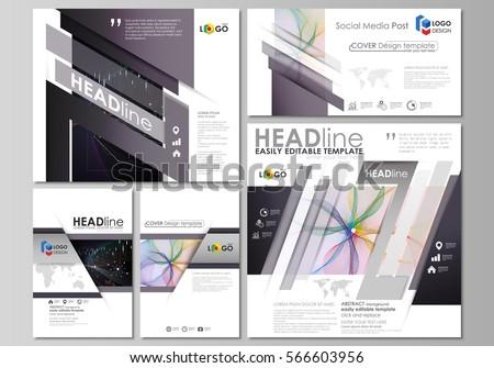 abstract blurb theme black white brochure stock vector 532687681 shutterstock. Black Bedroom Furniture Sets. Home Design Ideas