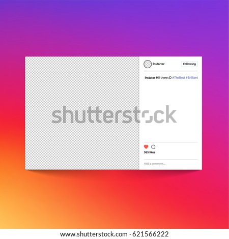 instagram frame stock images royalty free images vectors shutterstock. Black Bedroom Furniture Sets. Home Design Ideas