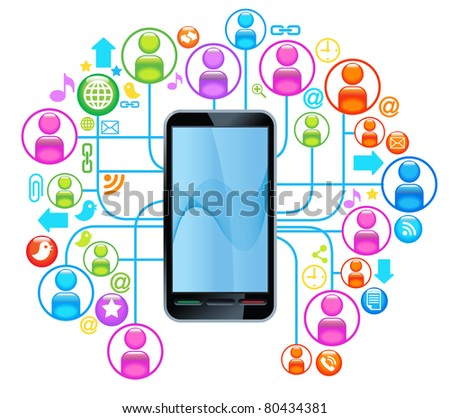 social network telephone. communication in the global computer networks. communication in the global telephone network