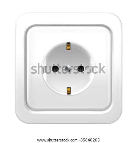 Socket, vector - stock vector