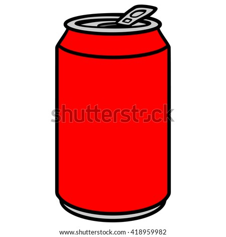 soda can stock vector hd royalty free 418959982 shutterstock rh shutterstock com soda can drawing vector