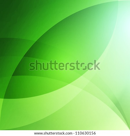 Soft Abstract Background - Green - stock vector
