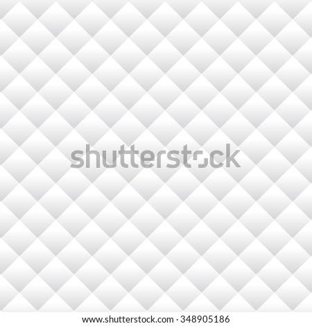 Soft white argyle pattern wallpaper, website or cover background - stock vector