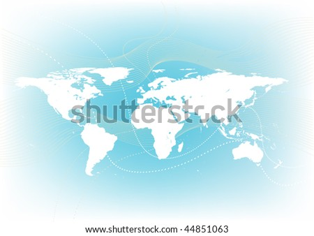 Soft world map background vector de stock44851063 shutterstock soft world map background gumiabroncs Choice Image