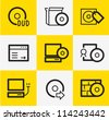Software Icons - stock vector