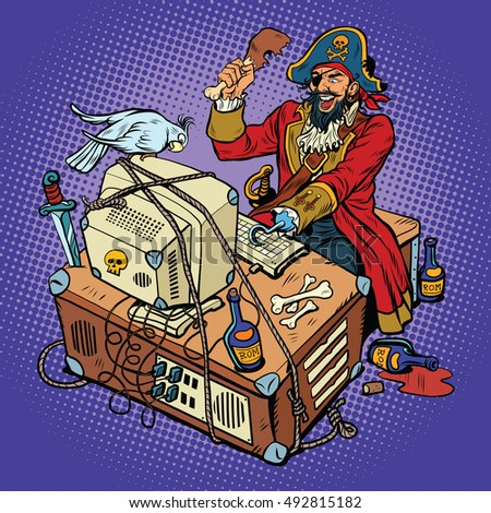 Software piracy, file sharing question?