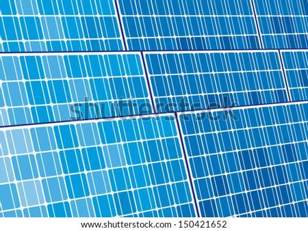 Top view solar panels solar cell stock photo 576144352 for Solar panel blueprint