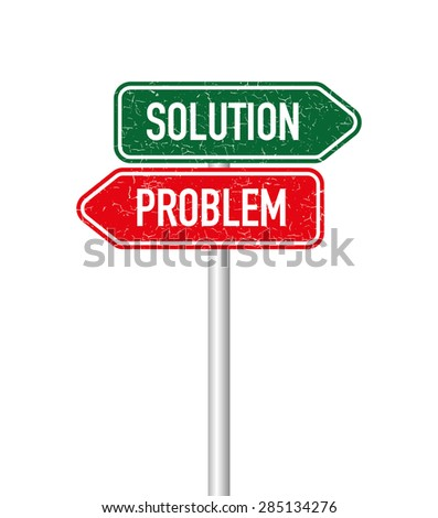 Soluiton and problem signpost