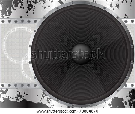 sound background - urban style vector illustration