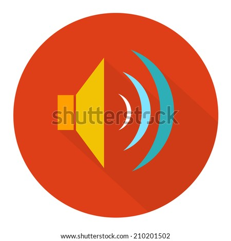 sound icon - stock vector