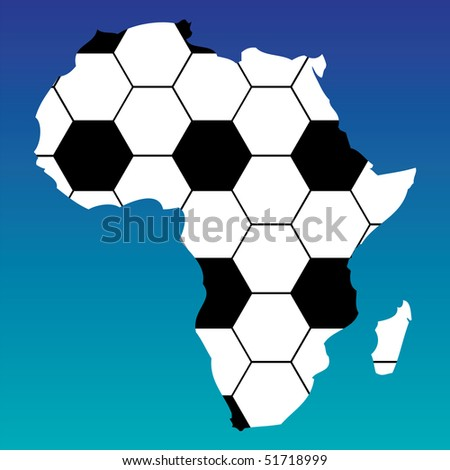 south africa 2010 - stock vector