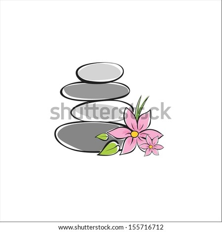 Spa - stock vector
