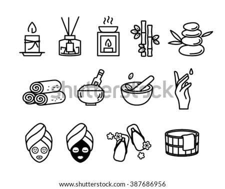 Spa Therapy Icon - stock vector